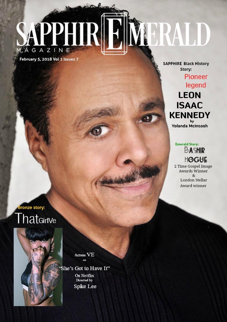 SapphirEmerald Magazine Pioneer Legend