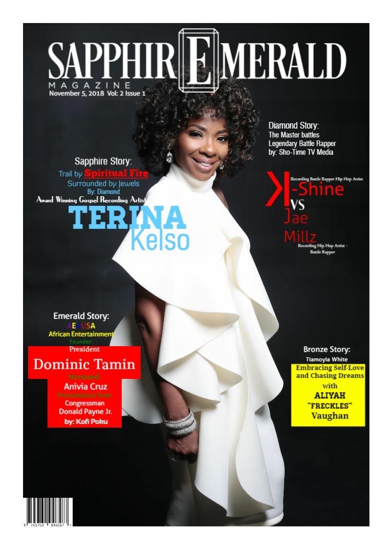 SapphirEmerald Magazine November  5, 2018, Vol 1 Issue 12