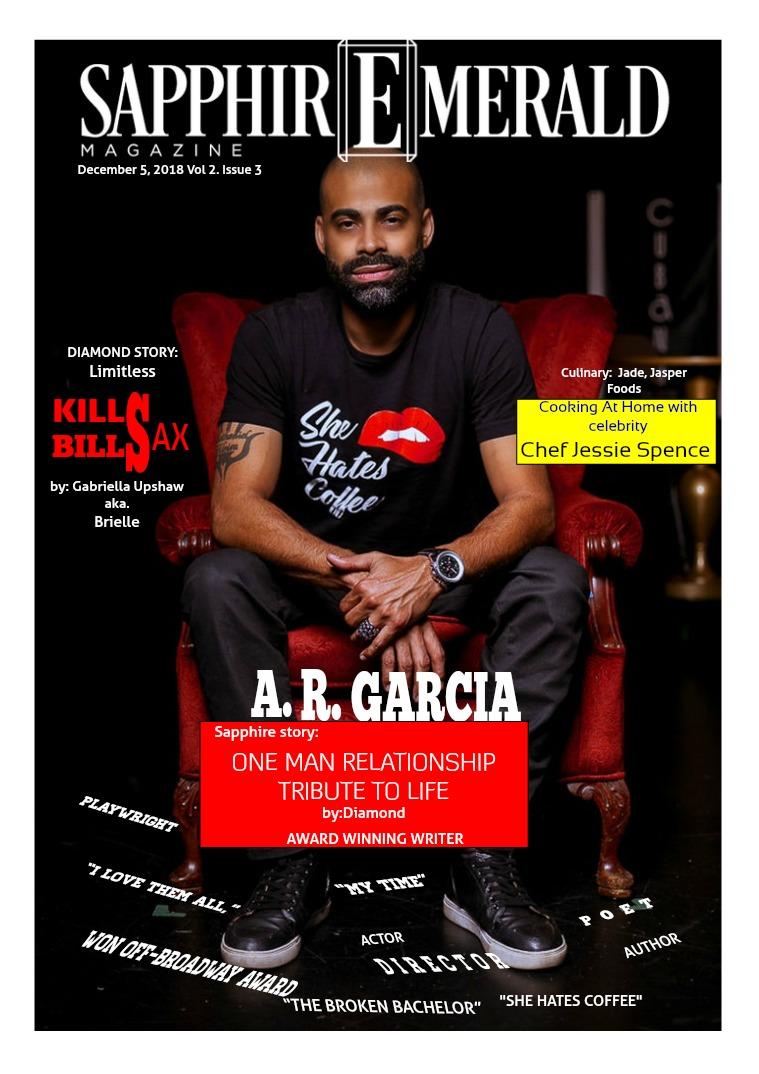 SapphirEmerald Magazine December  5, 2018, Vol 2 Issue 2