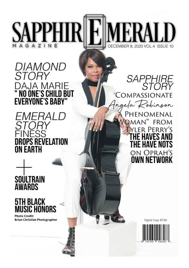 SapphirEmerald Magazine December  5, 2020 VOL 4 ISSUE 10