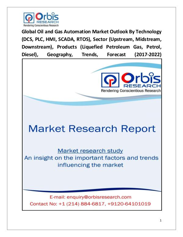 Global Oil and Gas Automation Market