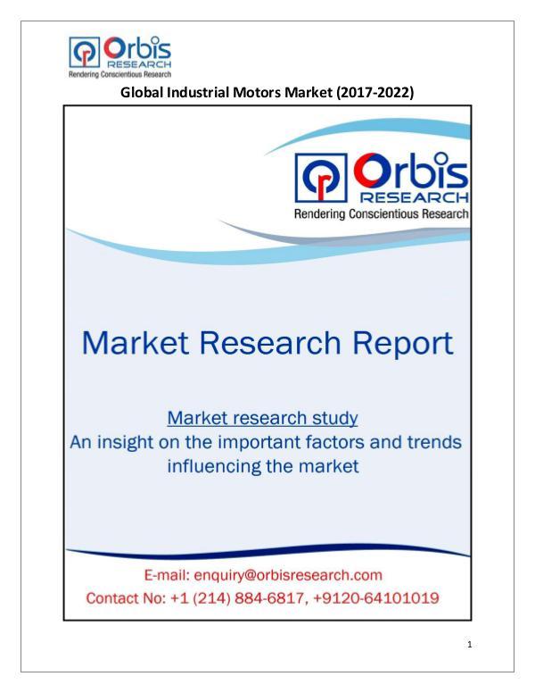 Global Industrial Motors Market