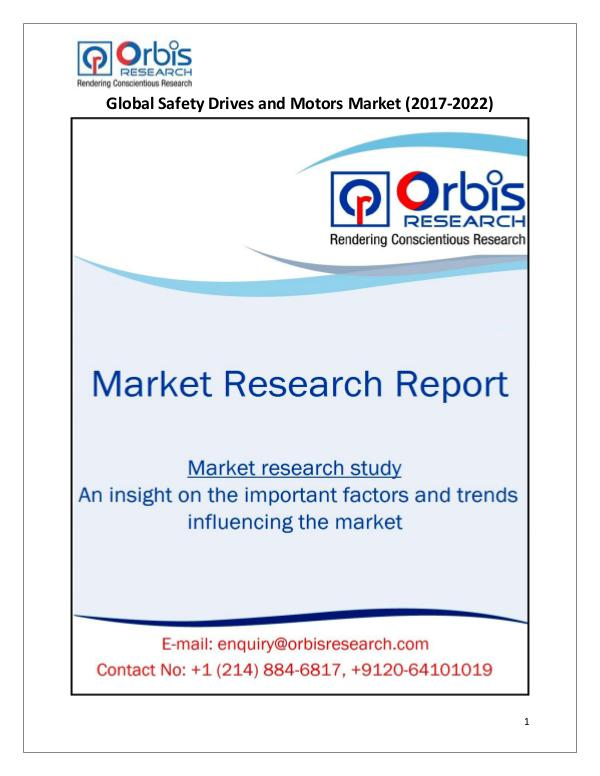 Global Safety Drives and Motors Market