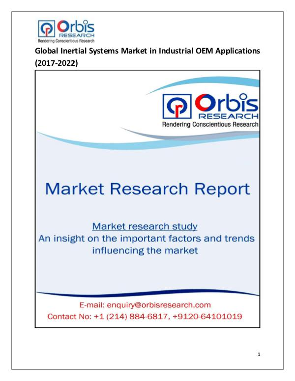 Research Report: Global Inertial Systems in Industrial OEM Applicat