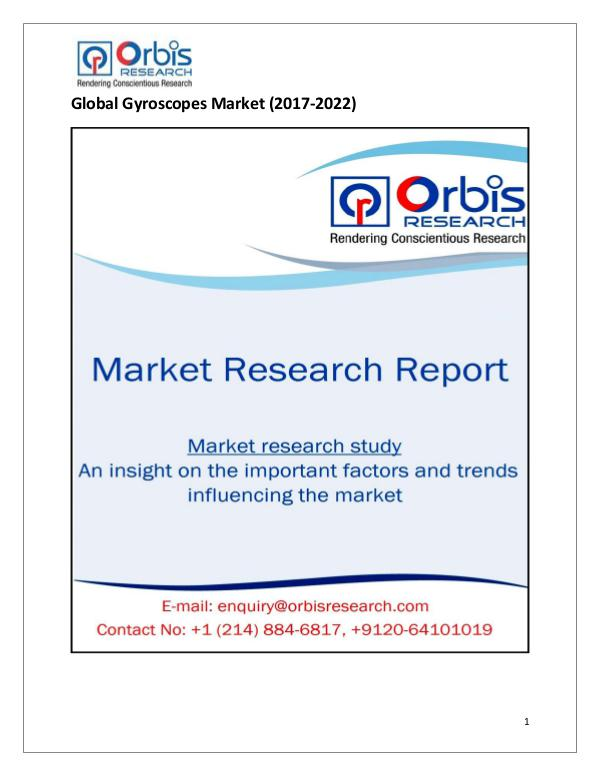 Global Gyroscopes Market