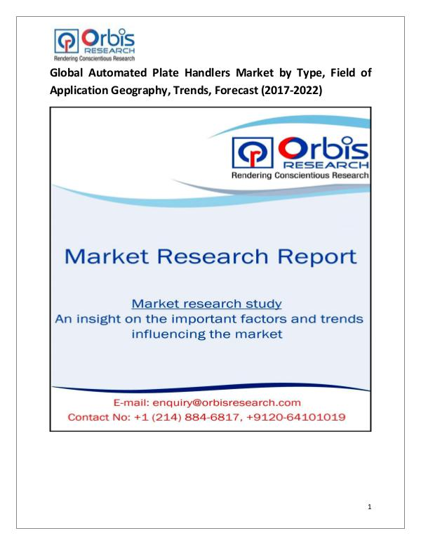 Global Automated Plate Handlers Market