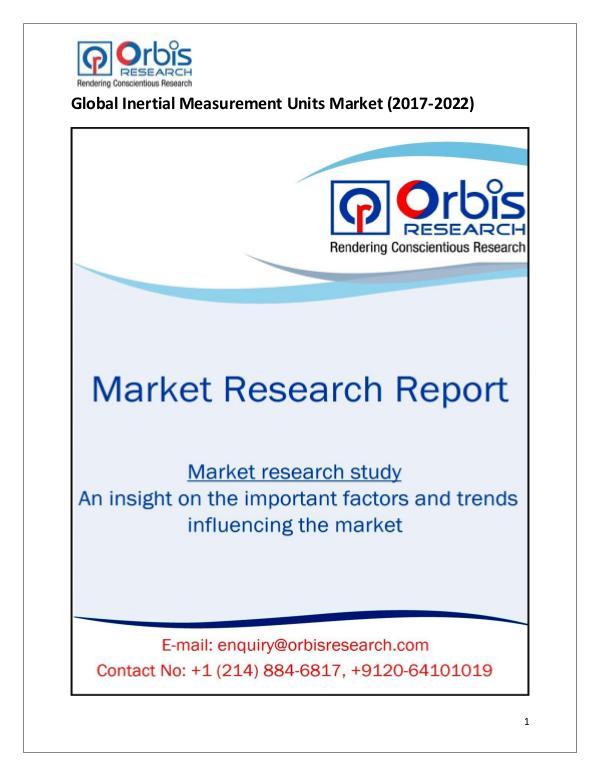 Global Inertial Measurement Units Market
