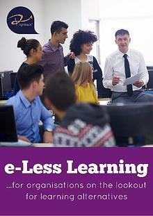 e-Less Learning Brochure