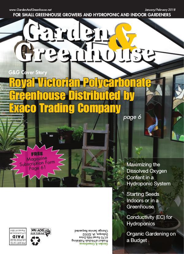 Garden & Greenhouse January-February 2018