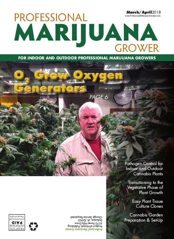 Professional Marijuana Grower March-April 2018 Issue
