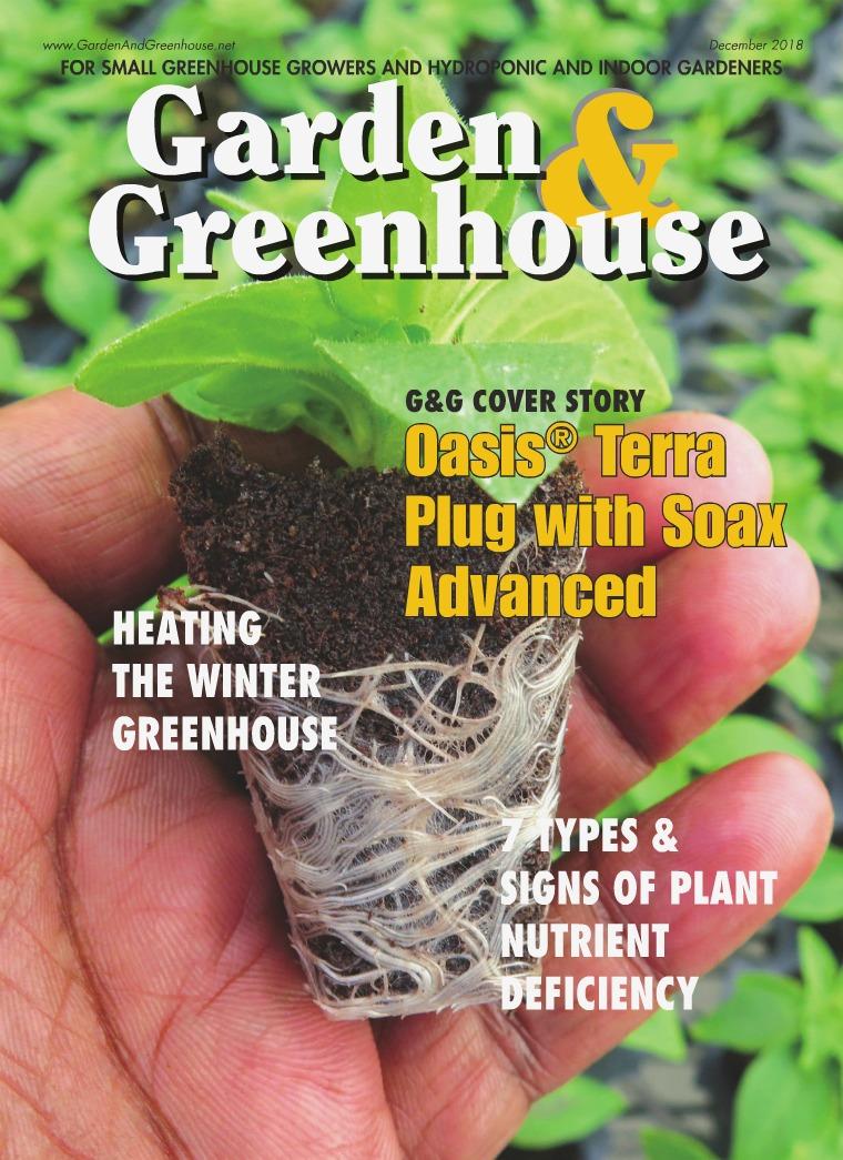 Garden & Greenhouse December 2018 Issue