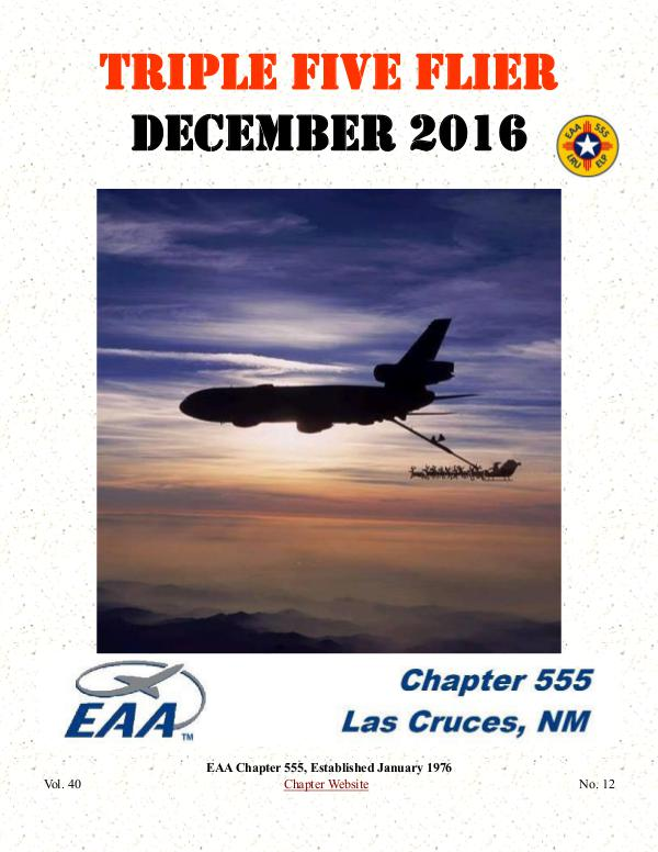 EAA Triple Five Flier EAA Triple Five Flier Newsletter
