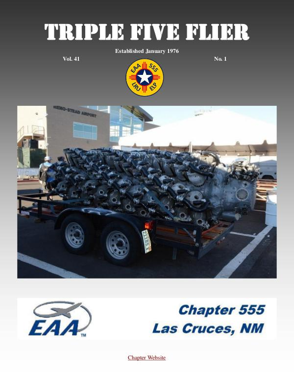 EAA Triple Five Flier Volume 41 #1