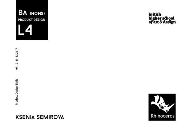 Portfolio. BHSAD Modeling in Rhinoceros. L4 | 1st semester