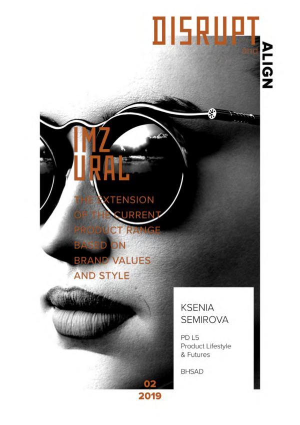 Portfolio. BHSAD Disrupt&Align | L5, Product Lifestyle & Futures