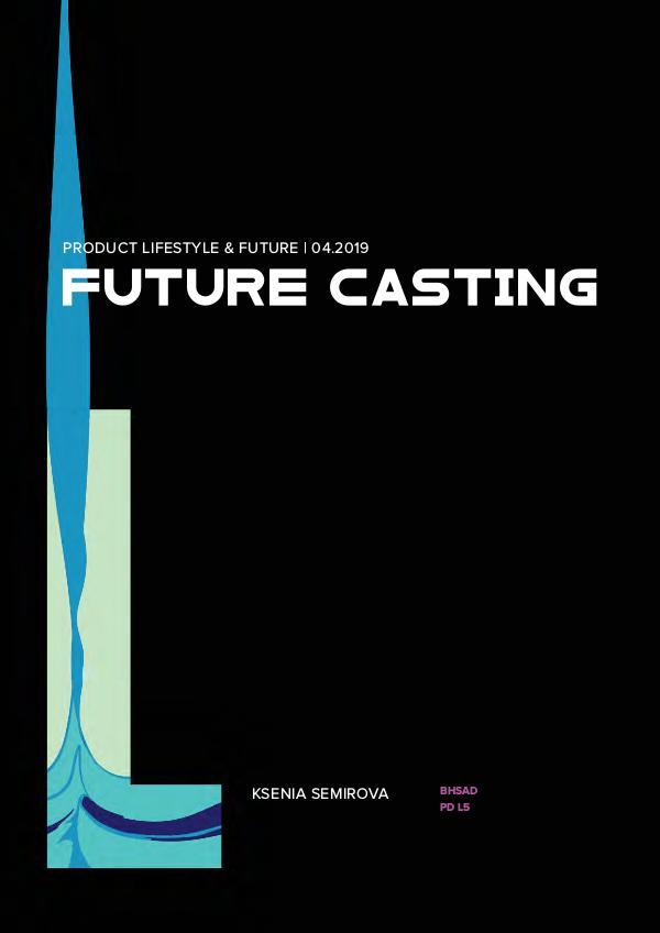Portfolio. BHSAD FutureCasting   L5, Product Lifestyle & Futures