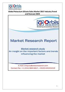 Global Potassium Silicate Sales Industry 2017 Market