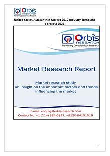 United States Astaxanthin Market Analysis