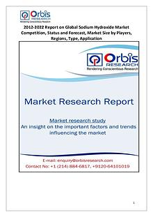 Sodium Hydroxide Market Trends Survey  to 2022 and Industry Growth