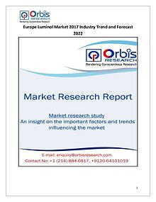 Europe Luminol Industry 2017 Market