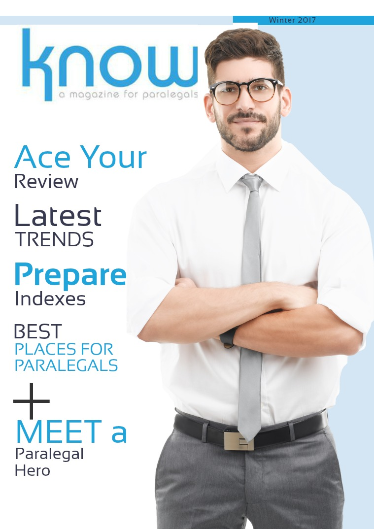 KNOW, The Magazine for Paralegals Winter 2017