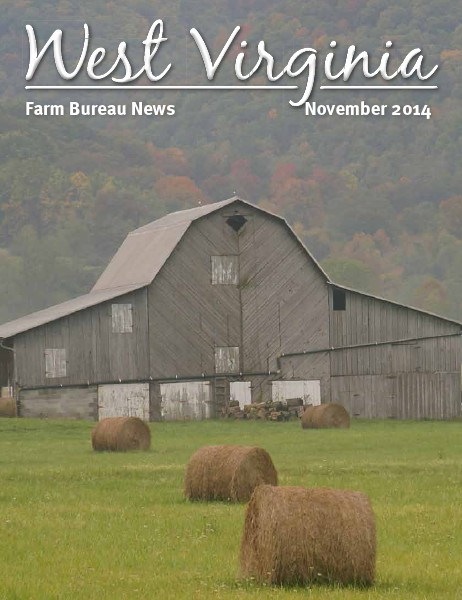 WV Farm Bureau Magazine November 2014