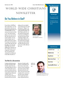World Wide Christians Magazine June 1 2013