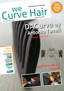 We Curve Hair Vol 1 July, 2013