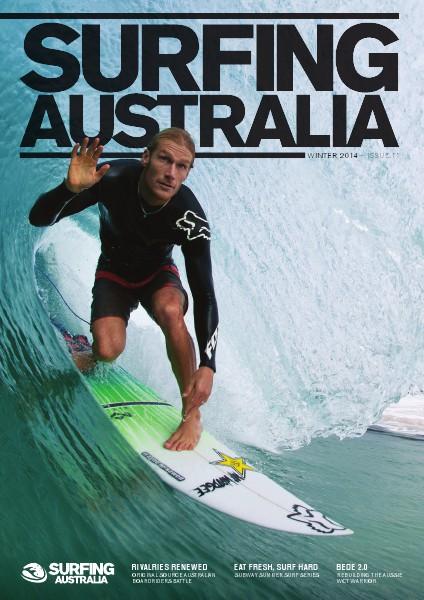 Surfing Australia News Winter 2014
