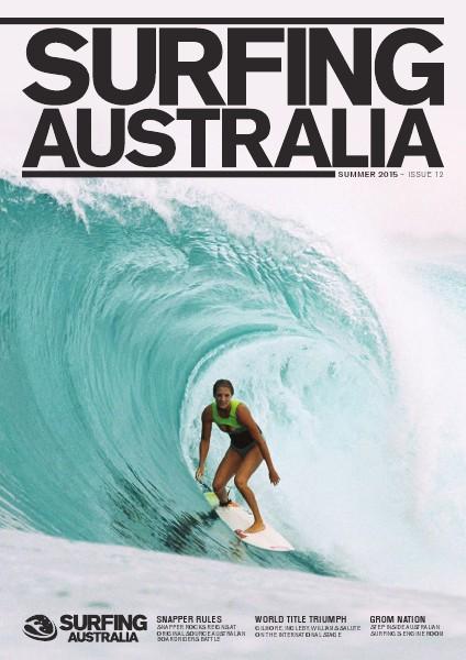Surfing Australia News Summer 2015