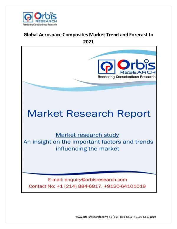 Chemical and Materials Market Research Report Forecast Report 2021 on Global Aerospace Composite