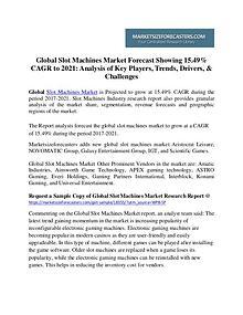 Global Slot Machines Market 2017-2021