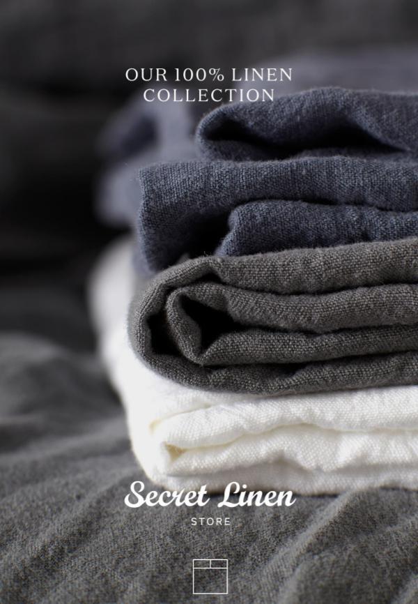 Secret Linen Store Look Books 100% Linen Collection