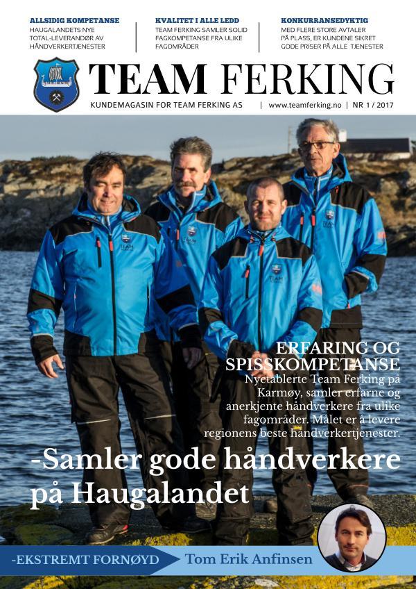 Team Ferking Kundemagasin - Nr 1/2017 Våren 2017
