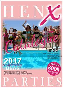 HenX parties catalogue 2017
