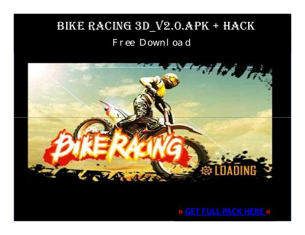 ⒶⓅⓀⒽⒶⒸⓀ › Bike Racing 3D_v2.0.APK + HACK FREE DOWNLOAD