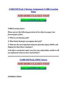CARD 548 STUDY Future Starts Here/card548study.com