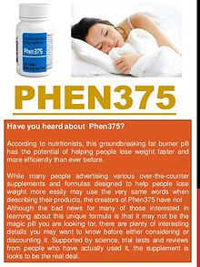 Phen375 Customer Reviews