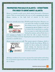 Everything You Need To Know About Alanya