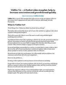 Vidfire V2 review and $26,900 bonus - AWESOME!