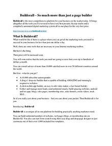 Builderall review -(GET) AMAZING +100 items bonus pack