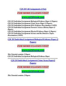 CJS 215 RANK Career Begins/cjs215rank.com