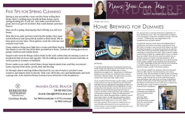 February Newsletter February