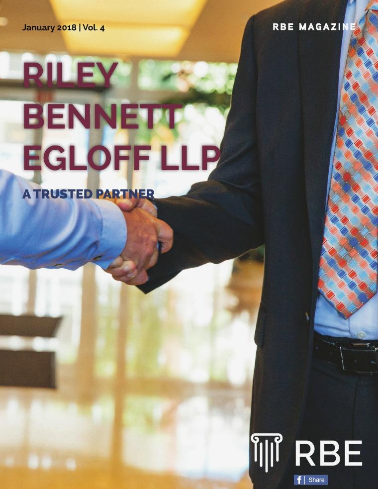 Riley Bennett Egloff Magazine January 18