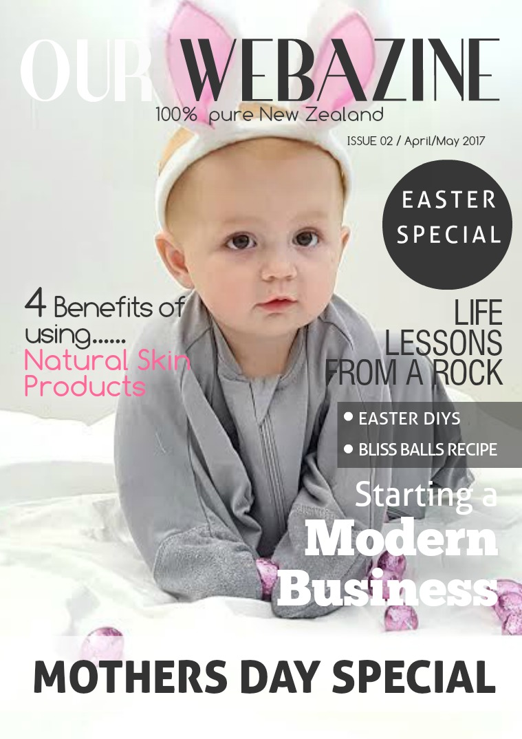 Our Webazine April/May 2017