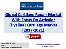 Cartilage Repair Market Analysis Global Forecast to 2017-2021