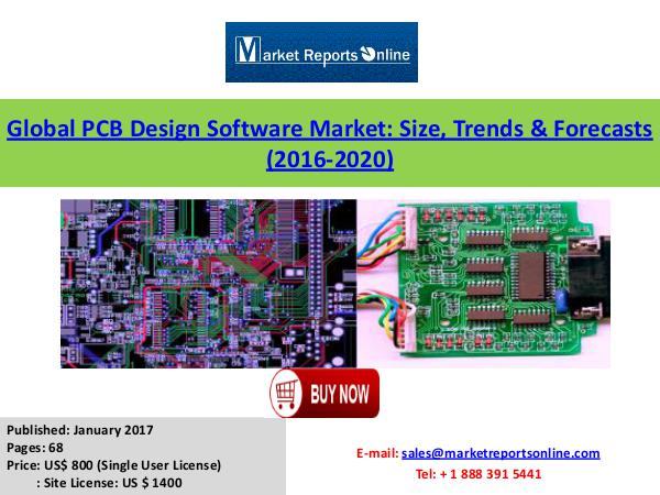 Global PCB Design Software Industry Analysis January 2017