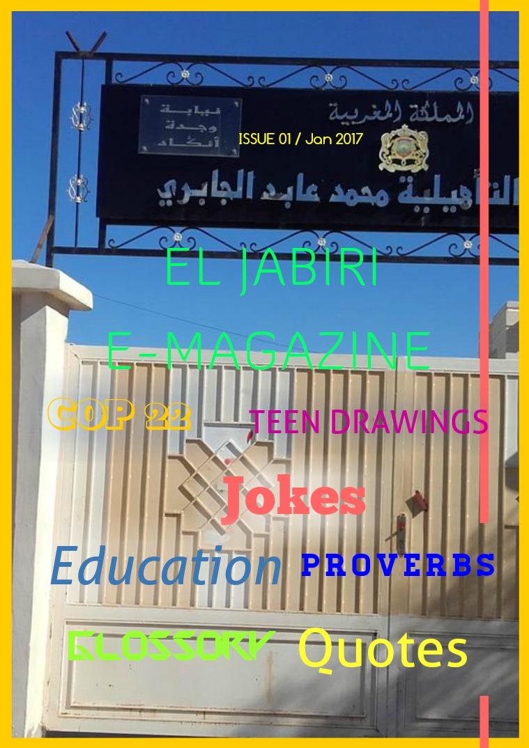 EL JABIRI E-MAGAZINE Issue 1