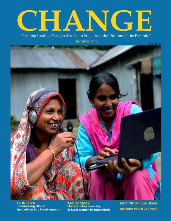 Change Magazine 2016 issue
