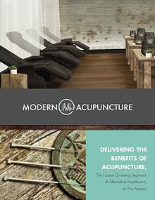 Modern Acupuncture Franchise Brochure